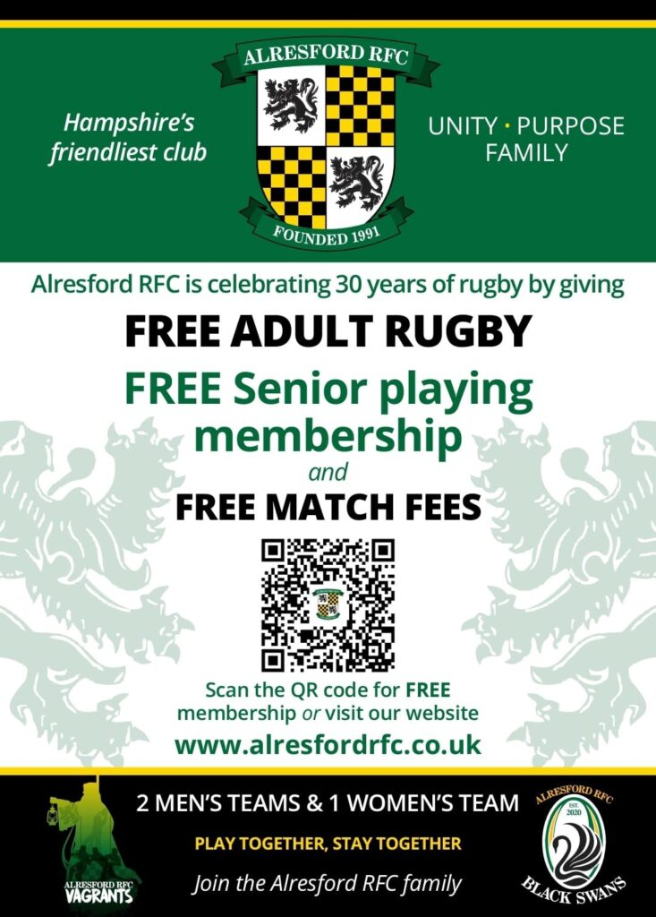 Free Adult Rugby
